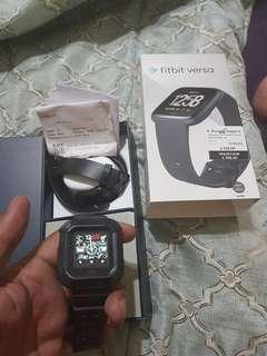 🚚 Fitbit Versa with Supcase protector