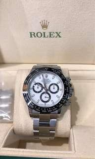 Rolex Daytona White Ceramic 116500