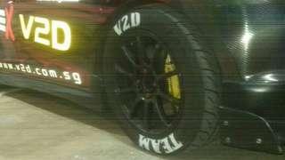 Tyre paint services
