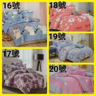 🚚 (雙人舒柔棉床包三件式)5*6.2尺 雙人床包 標準雙人∼可挑款(未含被套)床包1個+枕頭套2個(超取一筆訂單限6組)