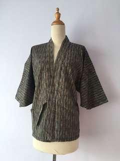 Vintage Kimono Cardigan Wrap Coat Jacket