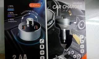 EZRA bluetooth player car charger