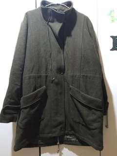 老品羊毛大衣