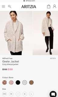 Aritzia Wilfred grete jacket
