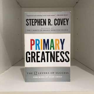 [BN] Primary Greatness by Steohen R. Covey