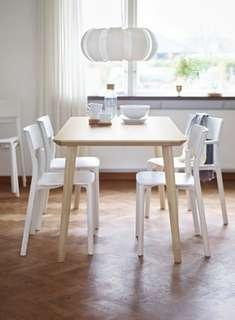 IKEA LISABO Dining Table 10/10 New Condition