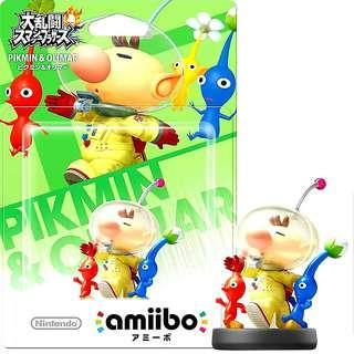 Nintendo Amiibo Pikmin & Olimar Super Smash Bros.Series Figure MISB