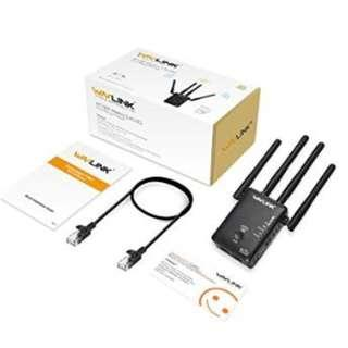 Wavlink AC1200 WIFI Range Extender/Access point/Wifi Booster/Wireless Router Signal Amplifier Dual Band (YA116)