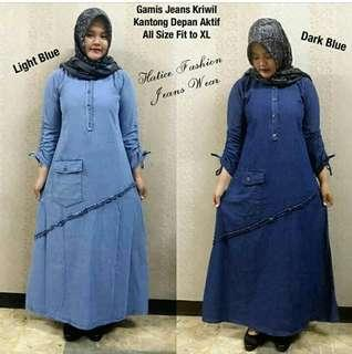 GAMIS JEANS POLOS