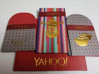 YAHOO red packet set 22p