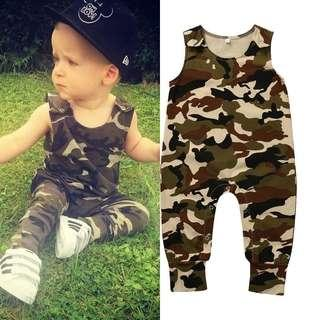 BN Army Camouflage Romper