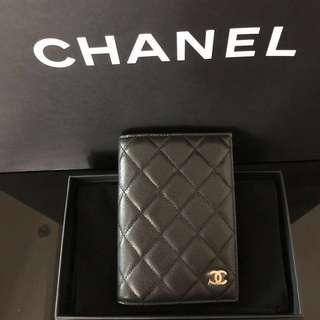 SALE‼️Brand new Chanel black caviar classic passport holder with gold hardware