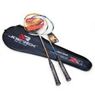 寶林站 Joerex 對裝羽毛球拍 Badminton Racket Pair Set