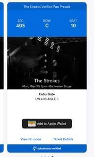 4 Tickets to The Strokes Toronto