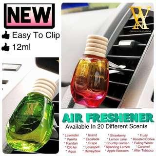 Air Freshener with Clips by Wan Perfume (New)
