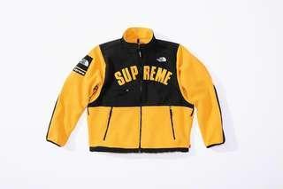Supreme The North Face Arc Logo Denali Fleece Jacket