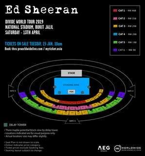 Ed Sheeran Concert Bukit Jalil 2019