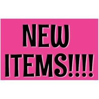 Check out my page! I posted some new items