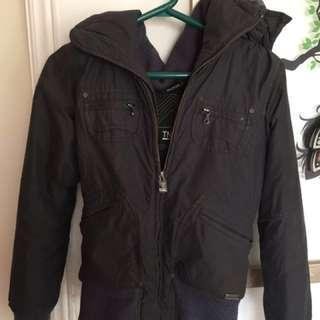 TNA blue winter jacket
