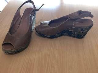 Women's shoes heels, boots, sandals.