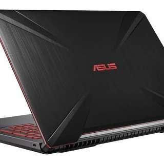 ASUS FX504GD-E4309T LAPTOP Gaming- I7-8750H-8GB RAM-1TB - 4GB GTX1050- W10
