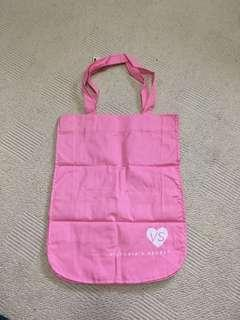 Victoria Secret medium tote pink bag NEW WITH TAGS
