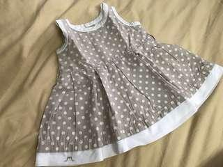Polka Dot Chateau de Sable Dress
