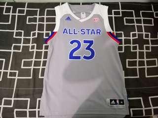 58613e7cd822 LeBron James 2017 NBA All-Star Game jersey