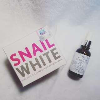 Skin Care Bundle: Snail White, V&M Naturals, Face Shop, Finale, Elujai, Erase