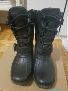Sperry SaltWater Misty Duck Boots - Black