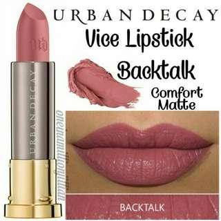 Urban Decay Vice Lipstick - Backtalk