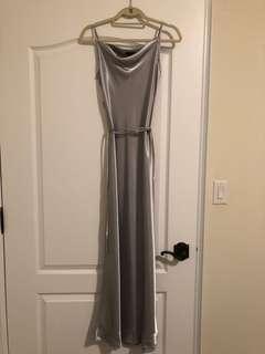 Grey/Silver Prom Dress