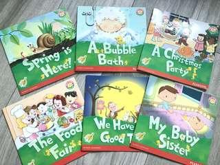 Pearson英文故事圖書 K2課本