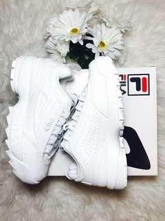 BNIB Fila Disruptor II Premium Mono Sneakers