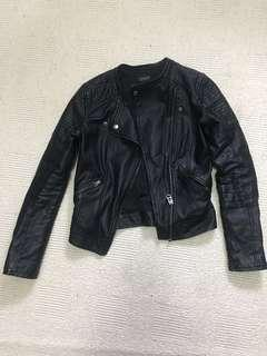 Topshop faux leather jacket size 0 or small