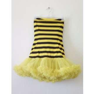 Leg Avenue Cute Bumble Bee Inspired Dress Stripes
