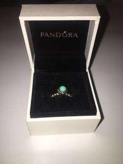 Pandora December birthstone ring size 50