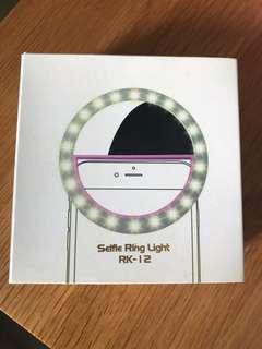 Selfie ring light 自拍補光燈