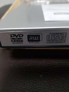 External DVD player