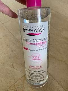 Byphasse Micellar makeup remover solution