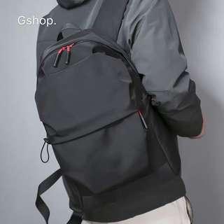 【 Gshop.】雙肩包男簡約時尚背包防水學生書包男大容量休閒旅行包