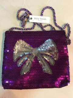 Suzy Smith sequin purse