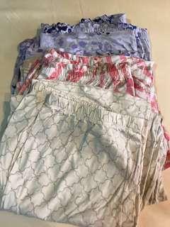 Lot of 3 Pajamas plus size XXL