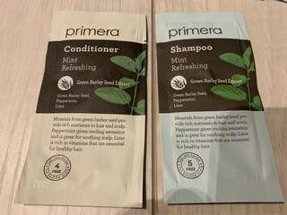 Primera 洗頭水+ 護髮素 旅行Set
