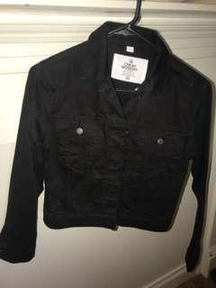 Black denim jacket inc.postage