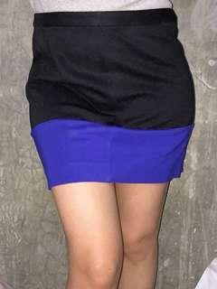 Stretchy mini skirt