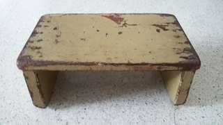 Vintage Wooden Stool