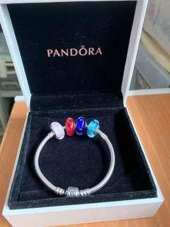 Pandora 17cm Bracket with Charms