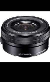 Sony 16-50mm f/3.5-5.6 OSS Zoom Lens