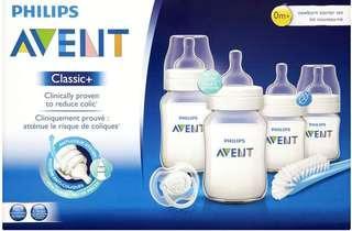 特價Philips AVENT Classic +Newborn Starter Set (一盒6 件)